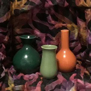 Crate&Barrel bud vases.